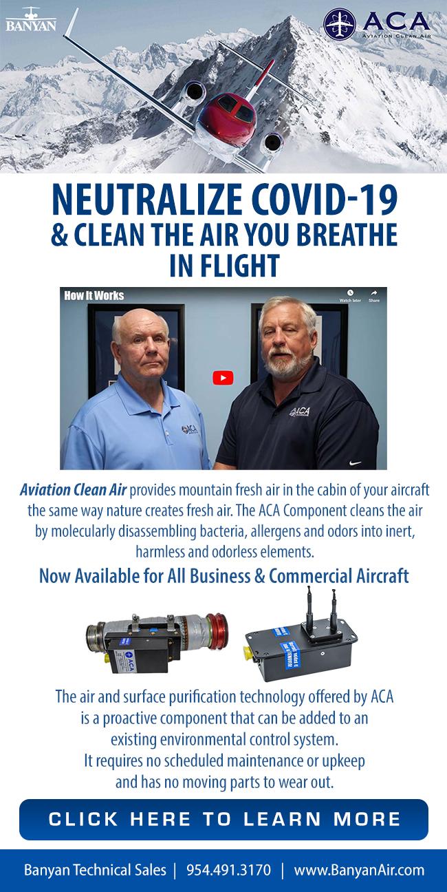 Banyan Air Service | maintenance, avionics, paint, and interior needs