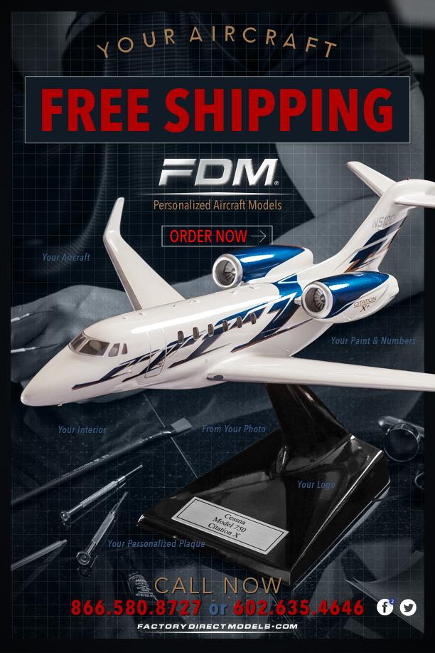 Factory Direct Models Aircraft Replicate Models