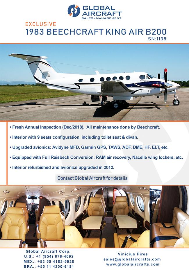 Global Aircraft | Beechcraft King Air B200 for Sale!