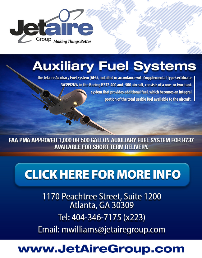 JetAire Group | Auxiliary Fuel Systems