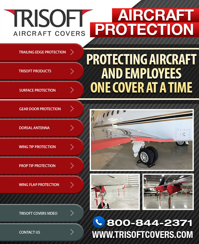 Trisoft Aircraft Covers | Aircraft Protection