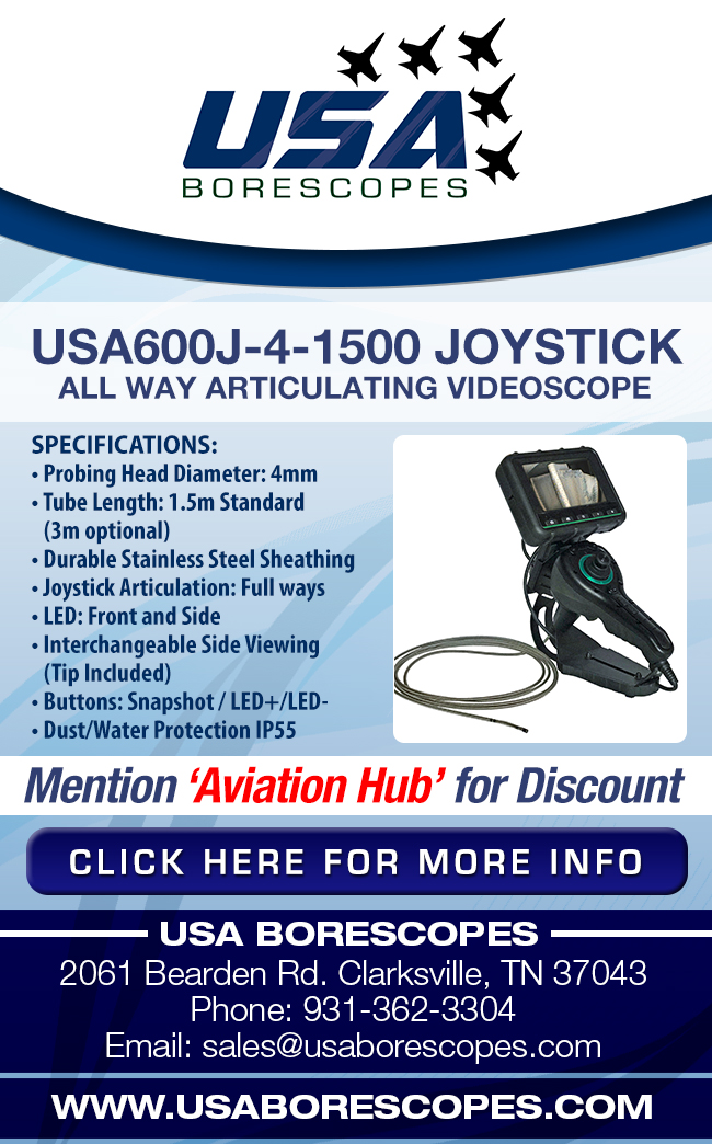 USA Borescopes | USA600J-4-1500 Joystick All Way Articulating Videoscope Sale